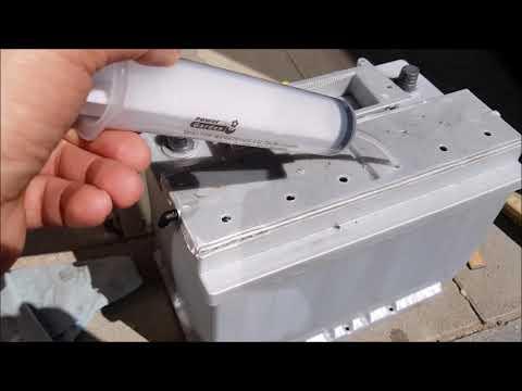 Обслуживание аккумулятора VARTA
