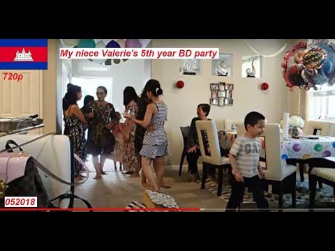 Khmer Birthday Party in Sacramento, CA - USA