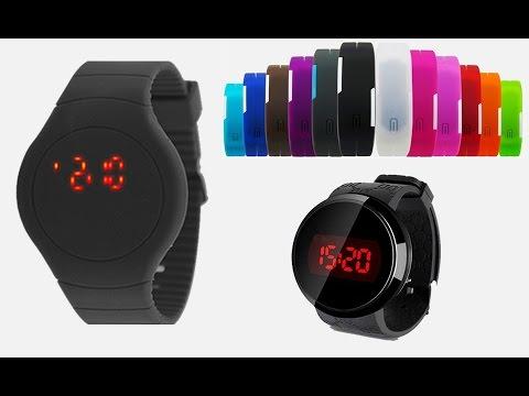e561646a739 Aprenda Acertar Relógio Led Chinês de 1 Botão e Touch - YouTube