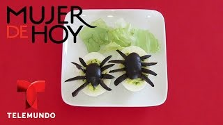 Decora tu mesa con huevos de araña  Telemundo Mujer  Telemundo