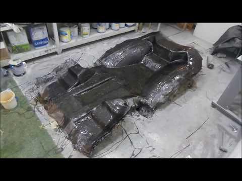 TANSOME Making C.F.R.P Racing gokart(carbon, aramid)