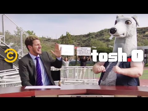 Tosh.0 – CeWEBrity Profile – High School Football Fan