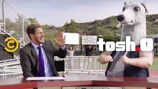 Tosh.0 - CeWEBrity Profile - High School Football Fan