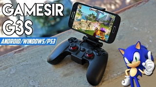 GameSir G3S - ¡Extraordinario Gamepad Para Android/PC/PS3! ᕙ(⇀‸↼‶)ᕗ