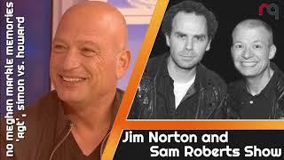 Jim & Sam with Howie Mandel - No Meghan Markle Memories, 'AGT', Simon vs. Howard - June 18, 2018
