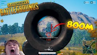 PUBGSHOTS #1 - IMPOSSIBLE 800m KILL WITH VSS?! GRIMMMZ 900M SNIPE ON MOVING BIKE!! FLYING CARS BUG?!