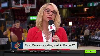 Trust Cavaliers Supporting Cast In Game 4 vs Celtics? | NBA Countdown | May 21, 2018