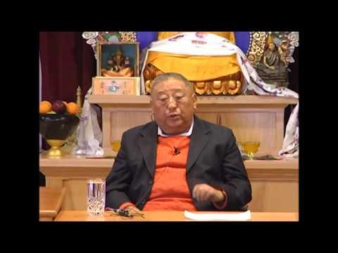 Gelek Rimpoche honors Gene Smith