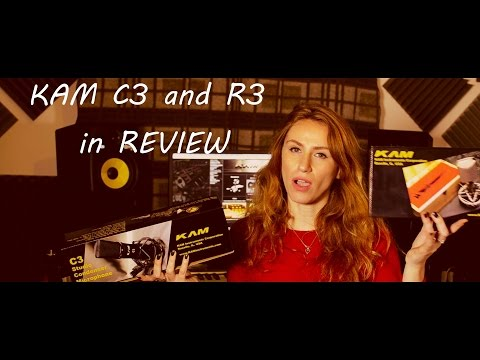 KAM C3 condenser mic and R3 ribbon mic in REVIEW!!!! including test and technical information