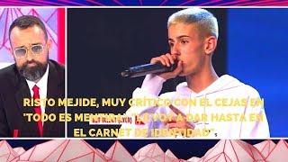 Risto Mejide, muy crítico con El Cejas en 'Todo es mentira'