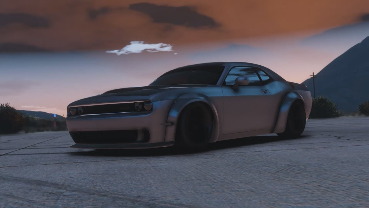 Gta 5 2018 Dodge Demon Epic Police Chase Cinematic Cancelled
