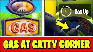 Gas Up a Vehicle at Catty Corner - Fortnite Location