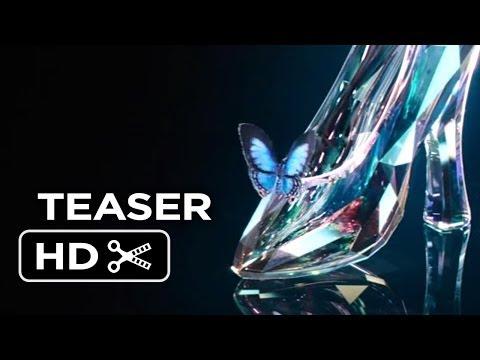 Cinderella Teaser TRAILER 1 (2015) - Live-Action Disney Fantasy Movie HD