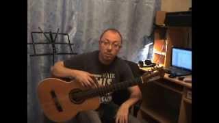Урок 14. Простые аккорды для гитары. Аккорд Gm, соль минор