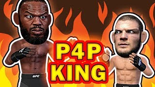 Khabib VS Jon Jones for the P4P King