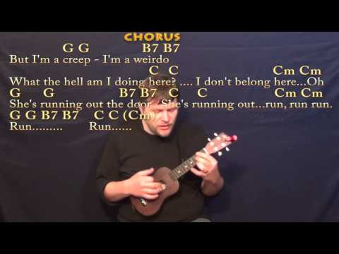 Creep (Radiohead) Ukulele Cover Lesson With Chords/Lyrics