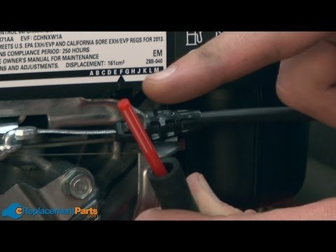 How to Replace the Fuel Filter on a Troy-Bilt TB130 Lawn Mower (Part # 16952-ZA8-800)
