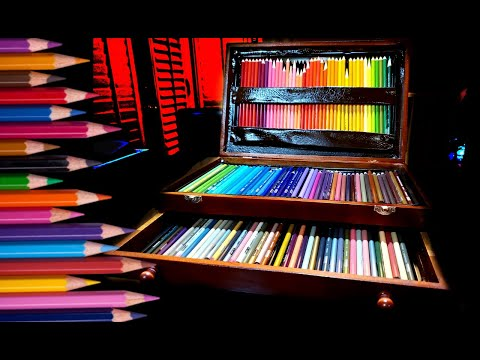 Easy DIY High End Colored Pencil Storage Box thumbnail