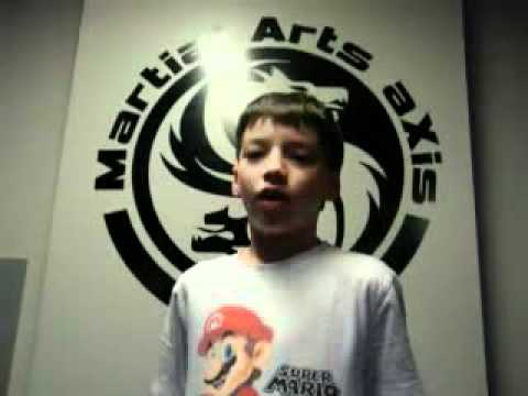 Kids Martial Arts Kingston Ontario - Martial Arts AXis - Quentin Paget