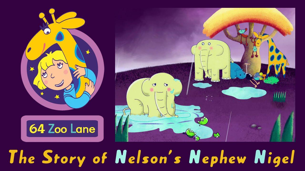 Cute Cartoon Elephant Wallpaper 64 Zoo Lane Nelson S Nephew Nigel S03e01 Cartoon For