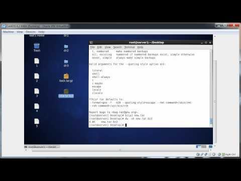 Linux Archive, Backup And Compress Utility (tar, Gzip, Bzip2, 7zip, Zip etc.) Part - 2