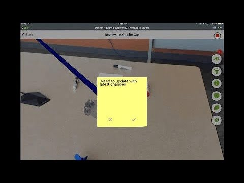 Demo of AR Design Review with ThingWorx Navigate