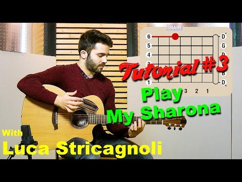 SamJam Tutorial Nr. 3 with Luca Stricagnoli // How to play My Sharona by The Knack