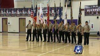 Miller High School ROTC honors veterans