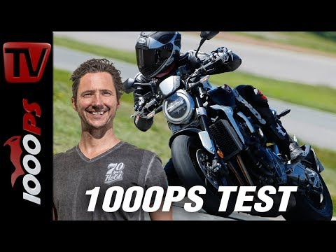 1000PS Test - Honda CB 1000 R 2018