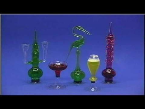 Curso Moldagem em Vidros - Para Peças Decorativas e Laboratório