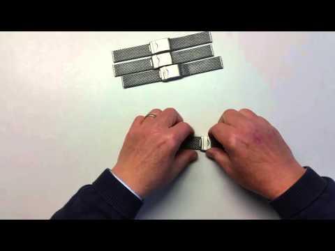 Milanaise-Uhrarmbänder von der Metallband-Manufaktur Aristo Vollmer