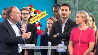 MEDEF: 7 500 entrepreneurs réunis à Jouy-en-Josas