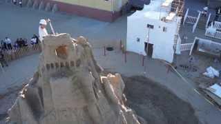 Tear Down Of The Sandy Castle 9/24/13