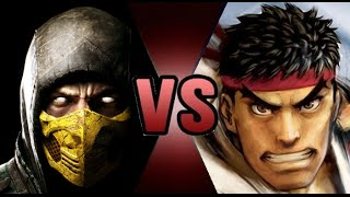 let s analyze death battle ryu vs scorpion