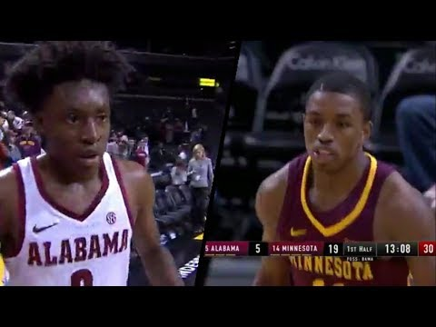 Isaiah Washington vs Collin Sexton @ Barclays!  3 on 5!! Young Bull goes for 40!!! Full Highlights