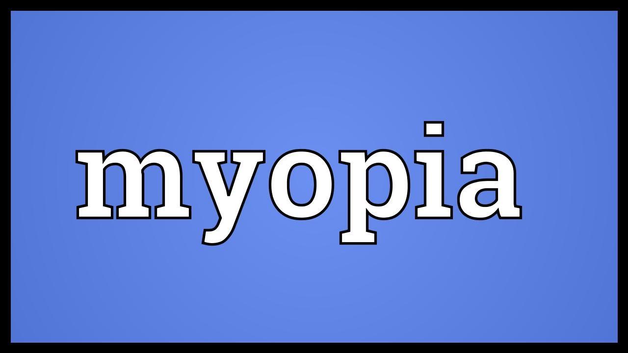 Myopia 2 mi ez. Rövidlátás (myopia)|Opti Markt Blog
