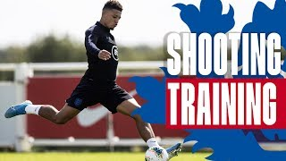 Sterling, Kane, Sancho & Wilson Test Pope's Reflexes! | Inside Training | England