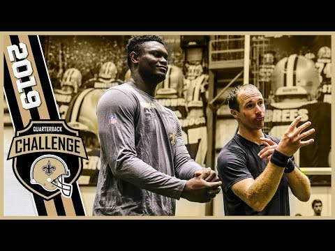 Scotty Mac - WATCH Drew Brees' QB Challenge vs. Pelicans Star Rookie Zion Williamson