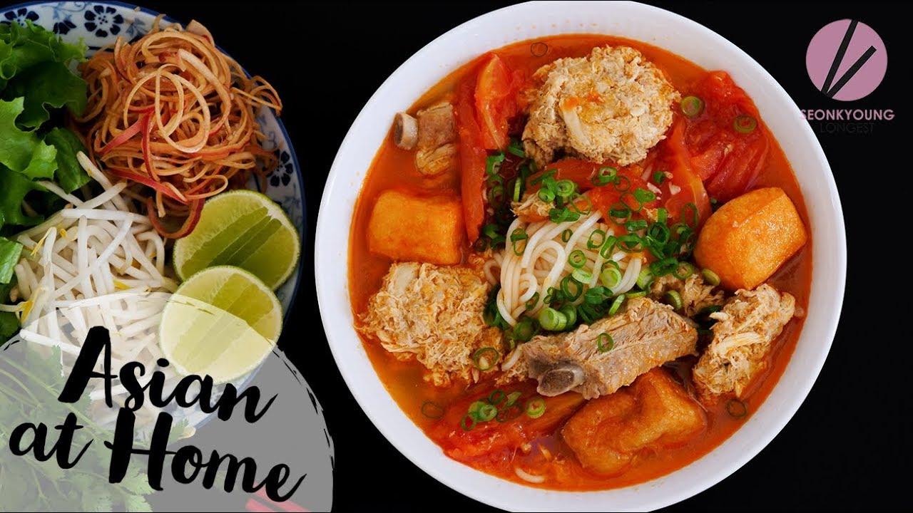 The BEST Bun Rieu, Vietnamese Crab Noodle Soup w/Special Guest!