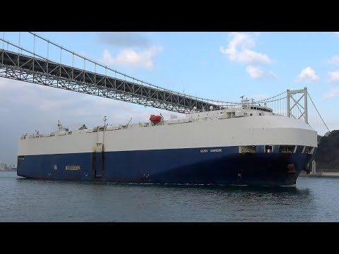 [4K] GLOVIS COMPOSER - OSM SHIPMANAGEMENT vehicles carrier