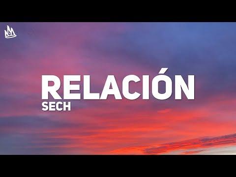 Sech – Relación (Letra)