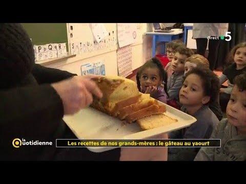 les-recettes-de-nos-grands-mères-:-le-gâteau-au-yaourt