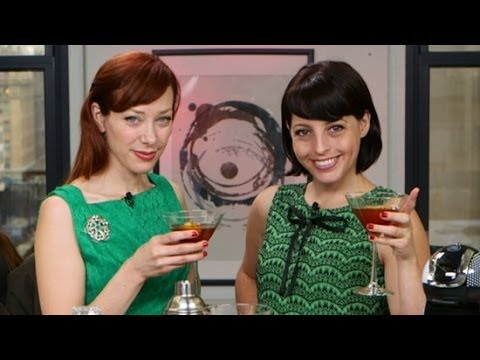Alie and Georgia's Espresso Cocktail For the Holidays! | Happiest Hour