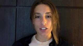 Andrea Petkovic grüßt ihre deutschen Fans