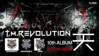 前作「CLOUD NINE」以来4年ぶり、T.M.Revolution記念すべき10枚目のアル...