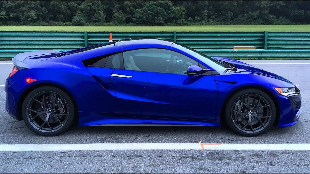 2018 Acura NSX - (Track) One Take - YouTube
