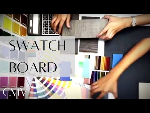 Material Swatch Board Cmvid Youtube