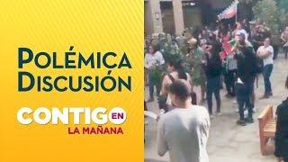 Vecinos del Portal La Dehesa se enfrentaron con manifestantes - Contigo en La Mañana