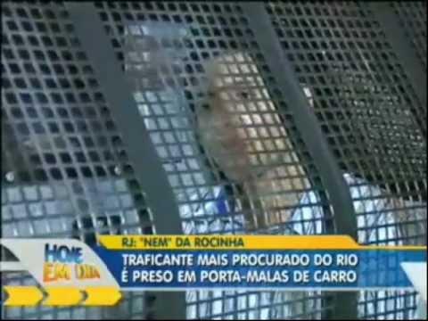 Download Todos os Detalhes sobre a Prisao do Traficante'Nem' da Rocinha ! [HD]