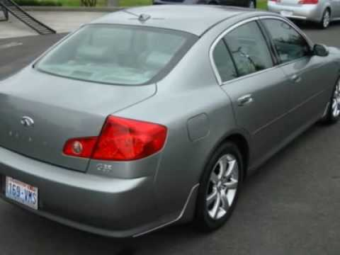 2006 infiniti g35 sedan youtube. Black Bedroom Furniture Sets. Home Design Ideas